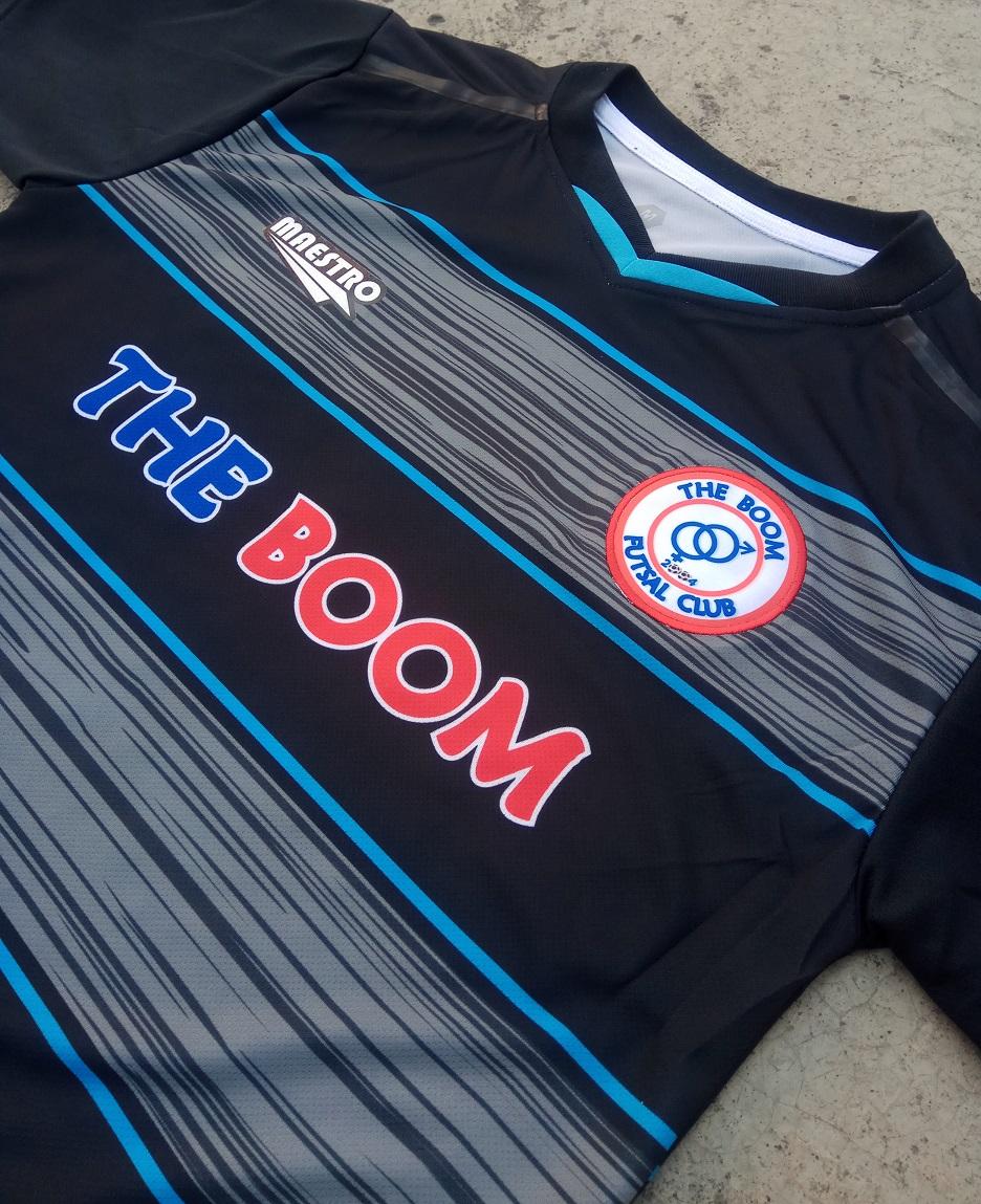 jersey futsal printing the boom fc