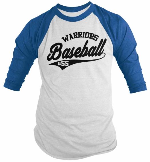 baju baseball couple jenis raglan